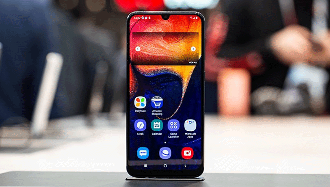 One UI 2.0 pour Galaxy A50